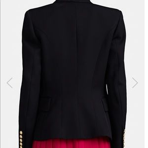 Balmain Jackets & Coats - BALMAIN Wool Double-Breasted Blazer